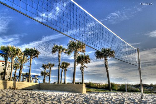 Queen Of The Court Volleyball Beach Volleyball Places To See