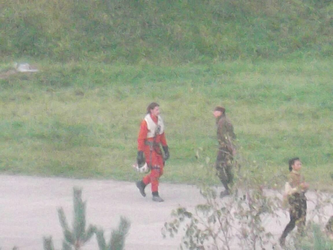 Star Wars Episode 7 News | Is This Adam Driver on the Latest Greenham Common Pics?