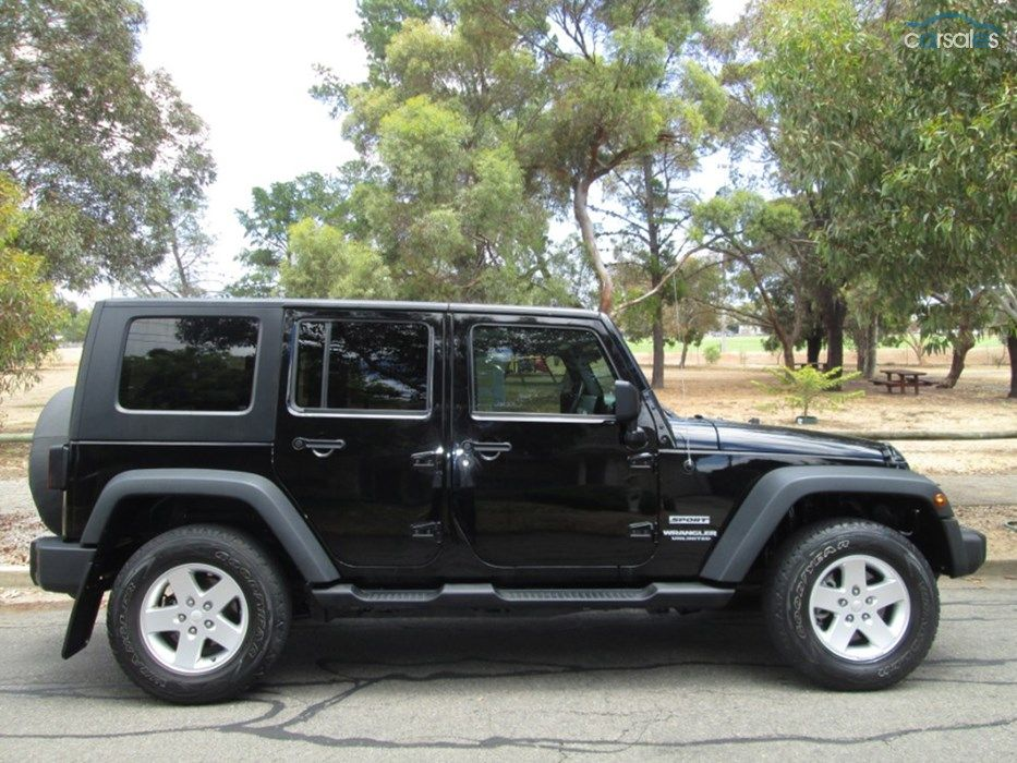 2010 Jeep Wrangler JK Unlimited Sport MY2010 2010 jeep
