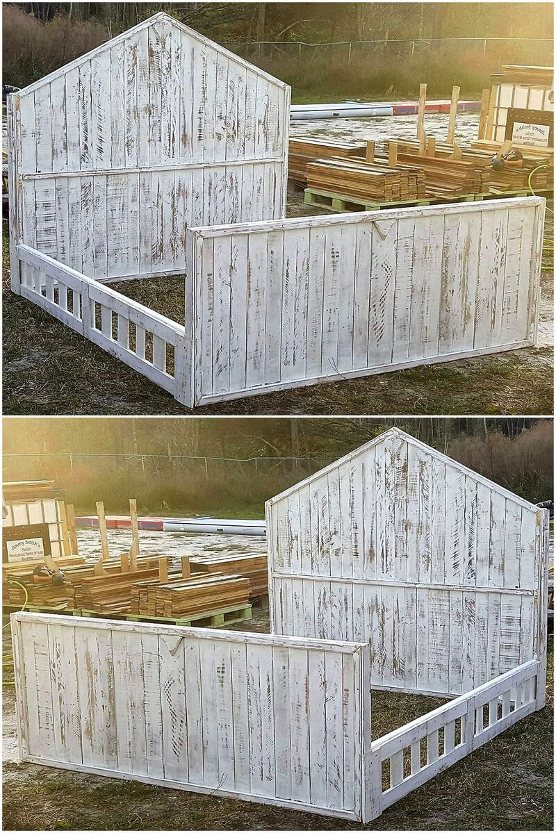 Pallet Ideas You Can Do IT Yourself Easily King size bed