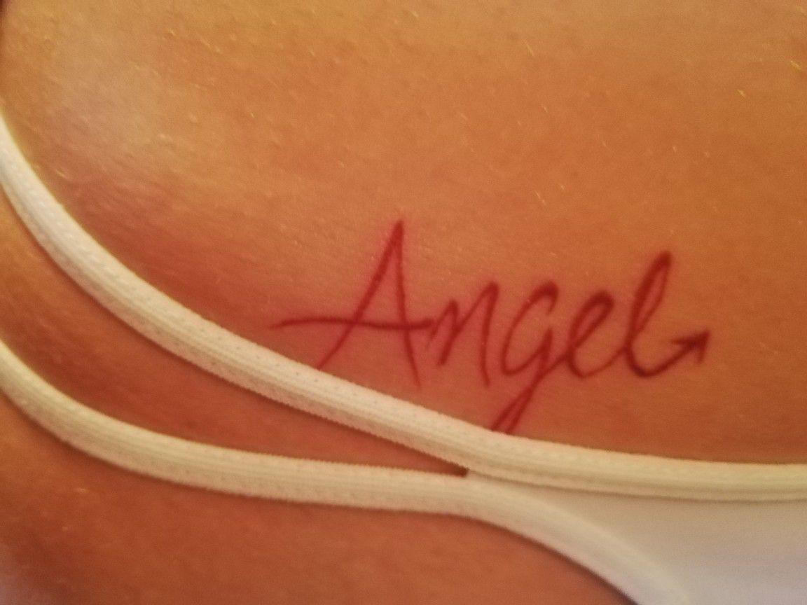Tattoo Tattoos Ideals Angels Red Tattoos Pomysły Na