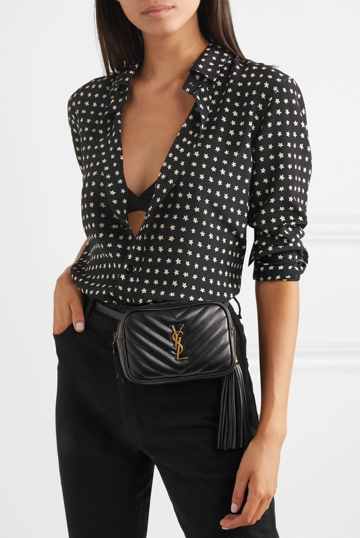 85652305 Pin by Jily Design on Bags & Purses | Leather belt bag, Quilted ...