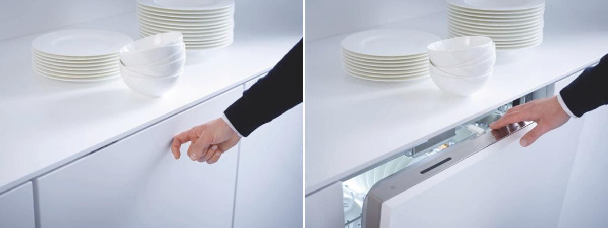 Lave Vaisselle Miele Totalement Invisible Sans Poignee Avec Ouverture Knock2open Decouvrez Toutes Les Lave Vaisselle Miele Cuisine Equipee Lave Vaisselle