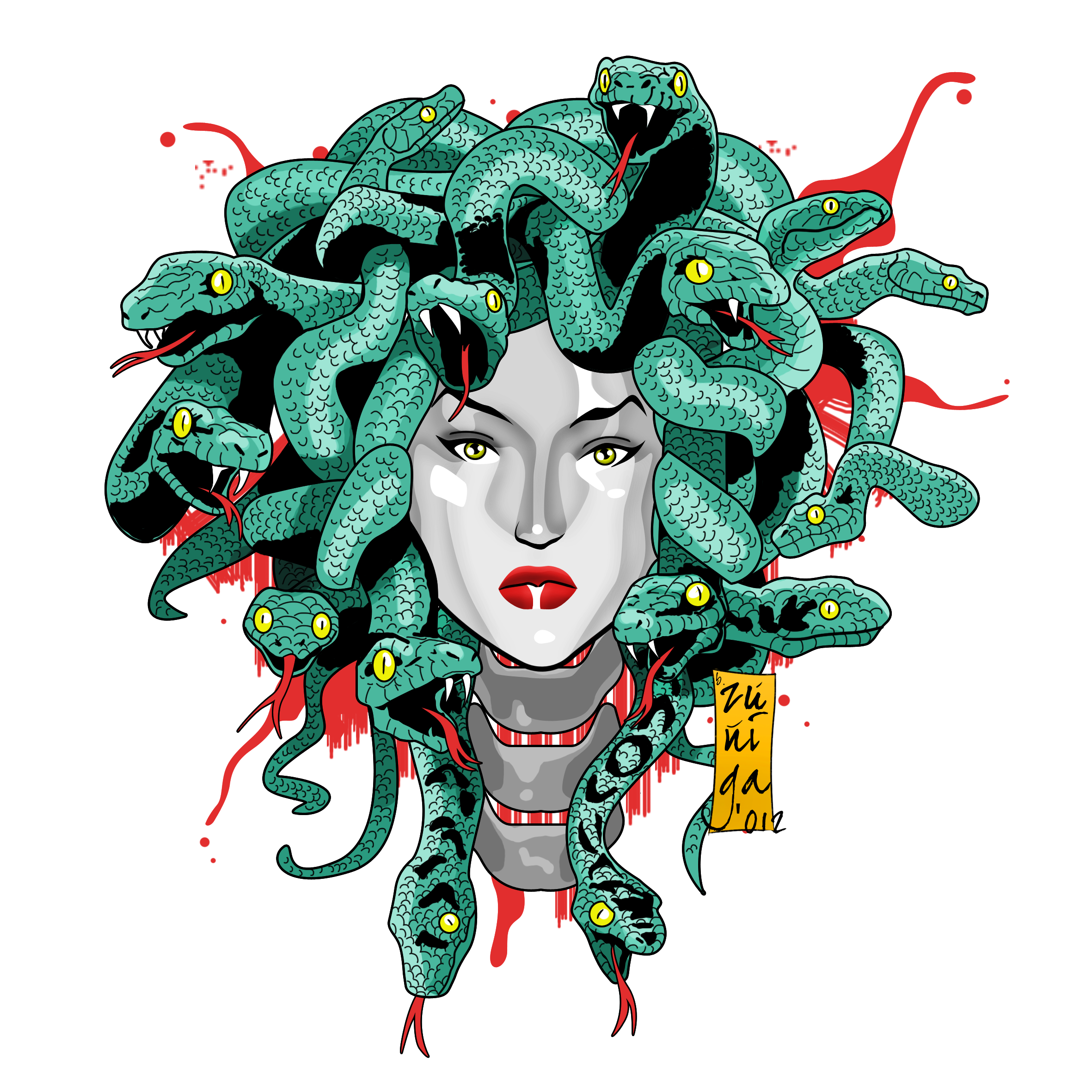 greek mythology and medusa Medusa was one of three beautiful sisters in greek mythology however, she was caught making out with poseidon in the temple of athena and was transformed into a gorgon in punishment as a gorgon.
