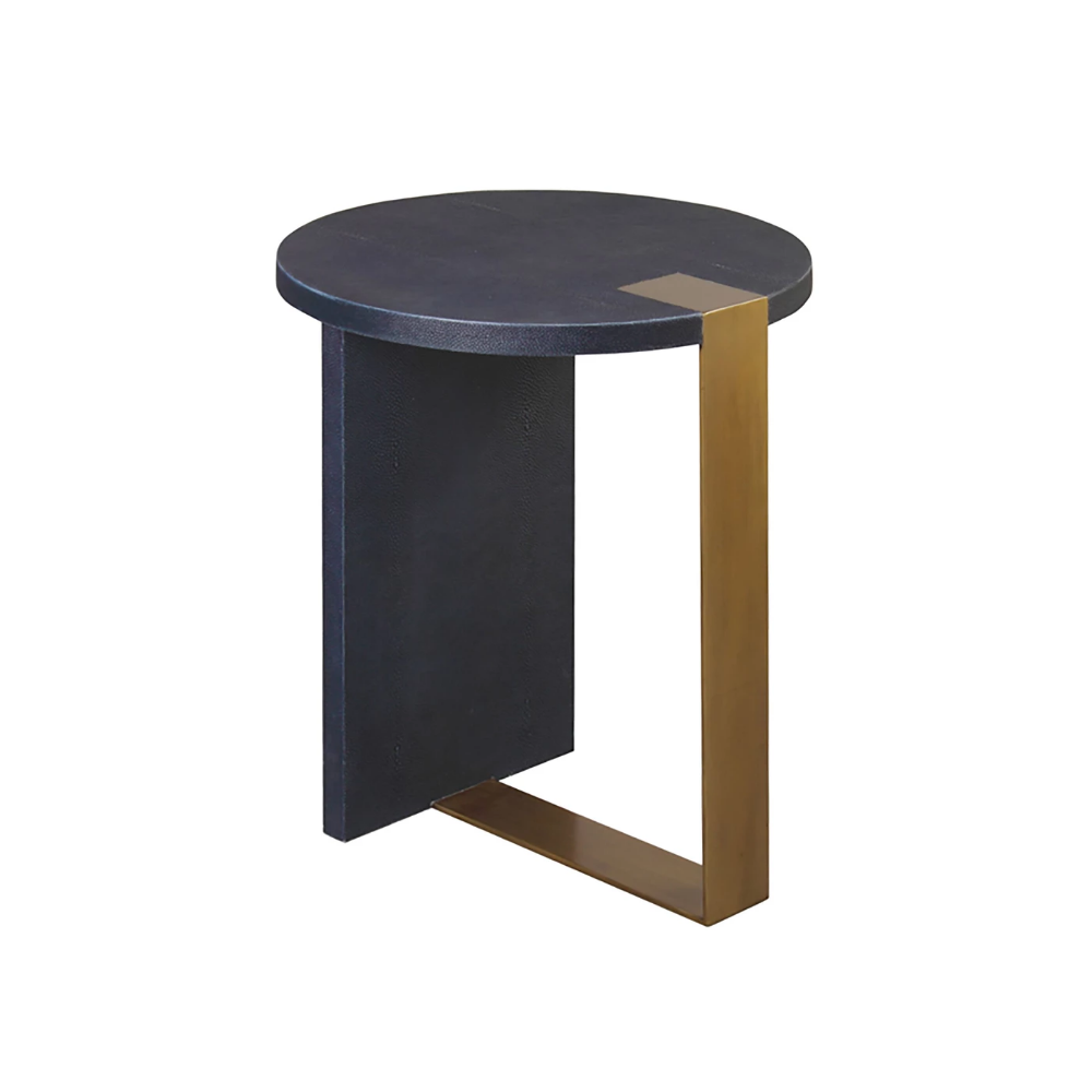 Harrington Side Table Navy Living Room Side Table Round Side