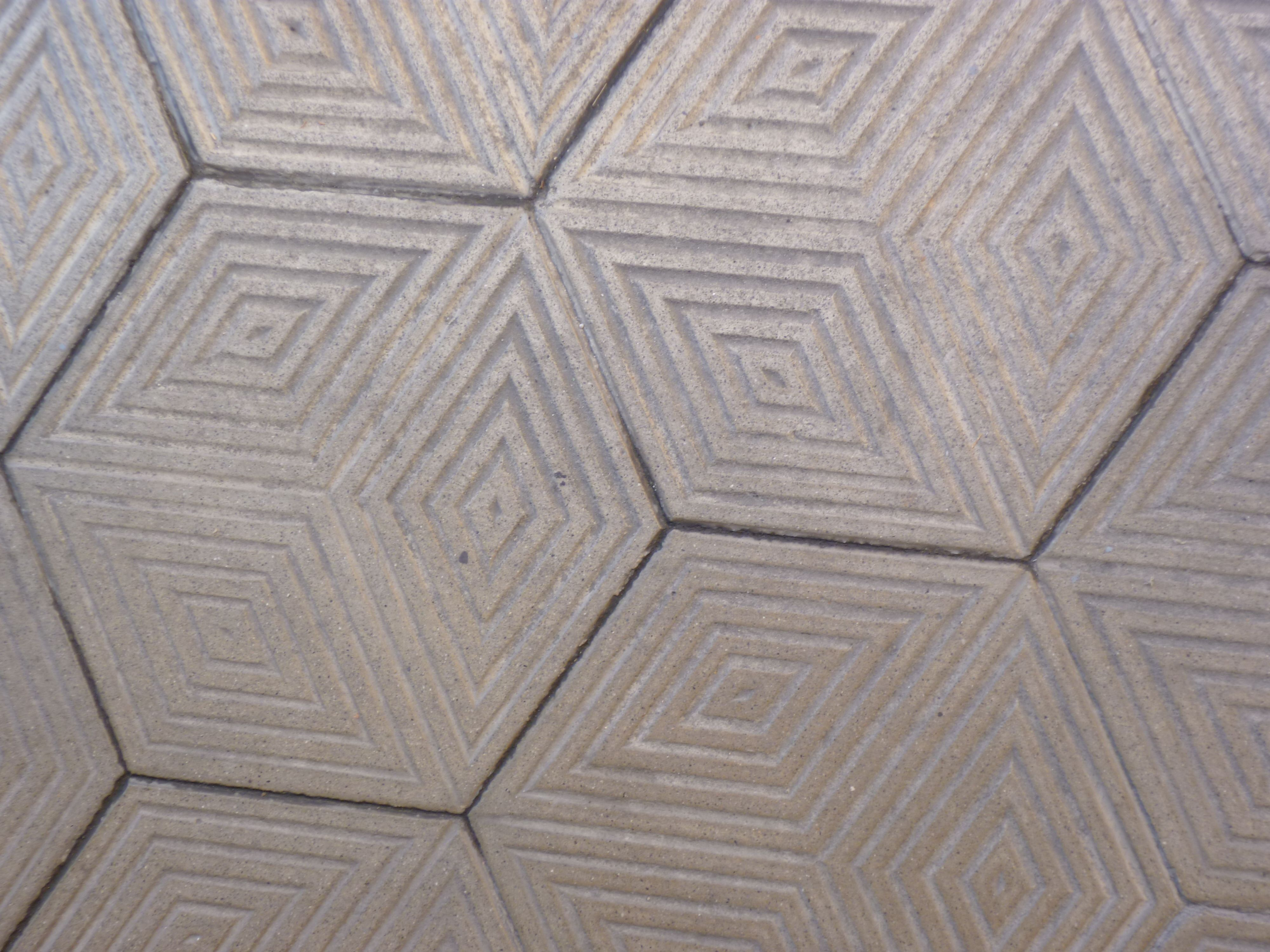 Geometric hexagonal tile handmade tiles can be colour coordinated geometric hexagonal tile handmade tiles can be colour coordinated and customized re shape texture dailygadgetfo Images