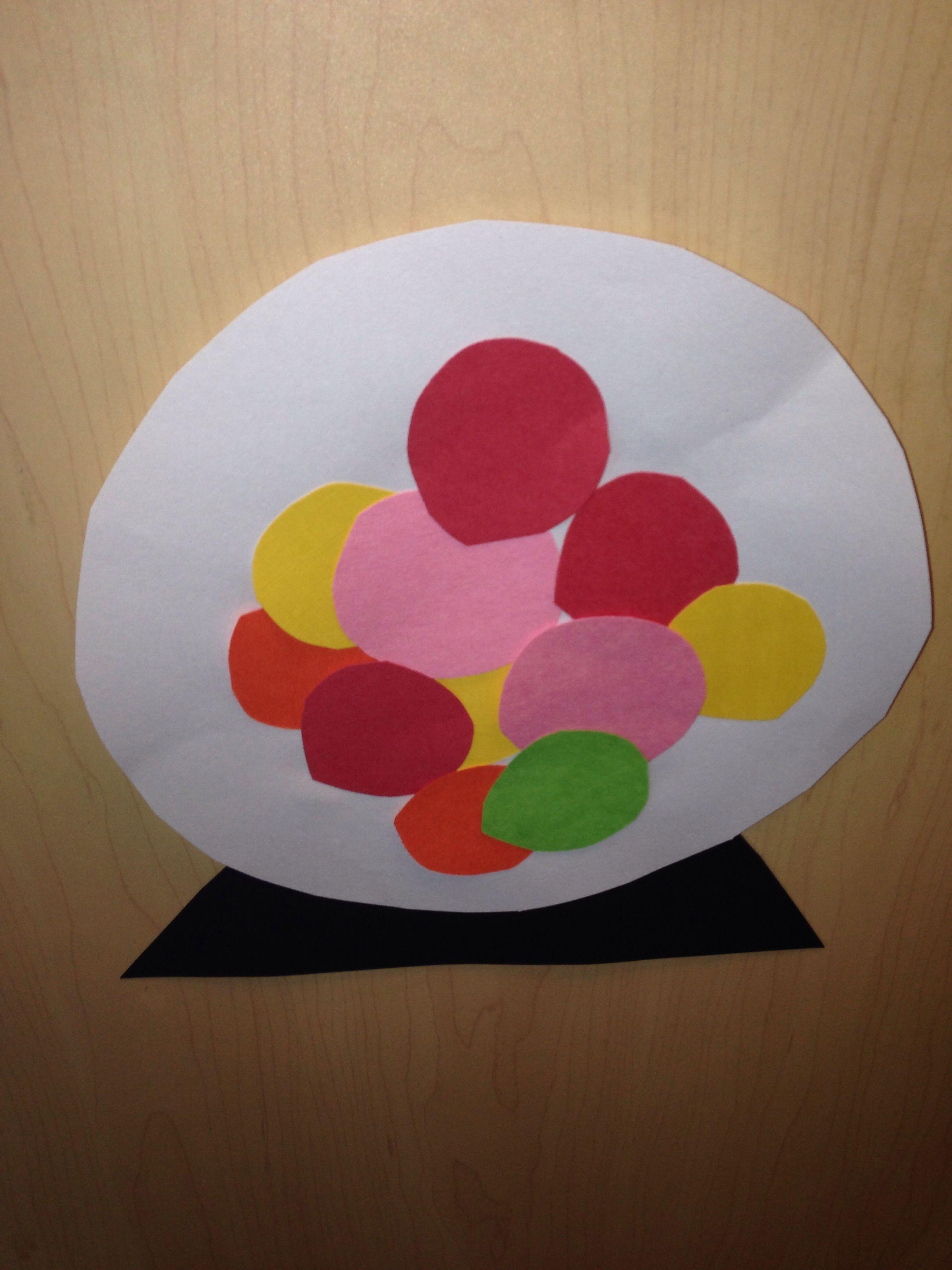 Gum Ball Machine Preschool