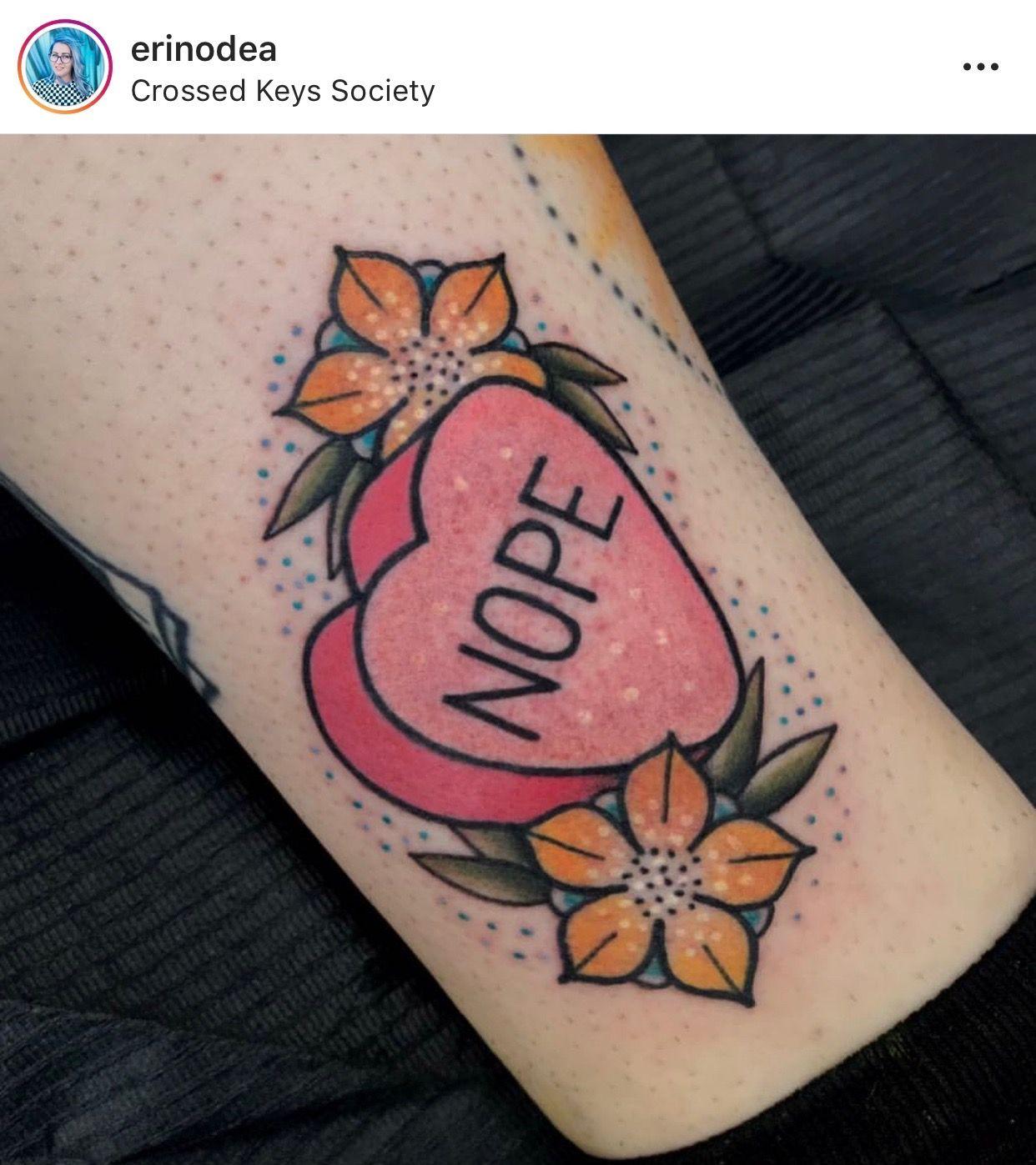 12+ Astonishing Candy heart tattoo designs ideas