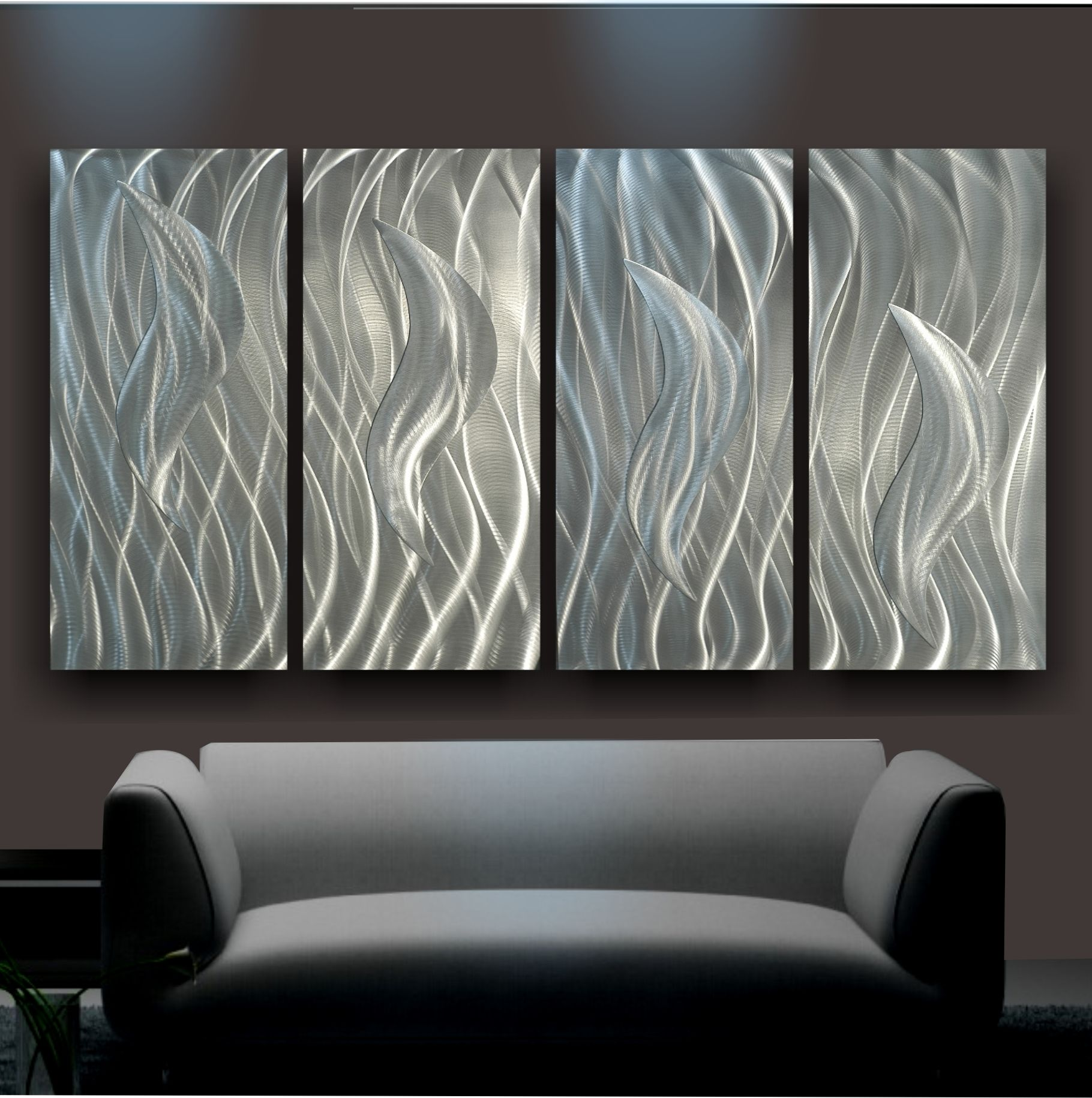 "Wall Metal Art wall art » plain metal wall art » ""flamin"" metal wall art 