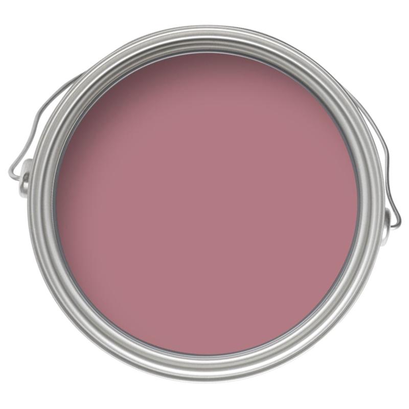 Dulux Once Raspberry Diva - Matt Emulsion Paint - 5L | Homebase | Dulux  feature wall, Dulux, Pink paint colors
