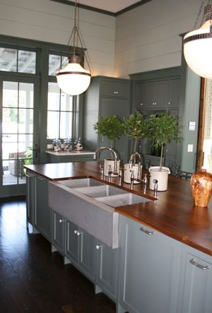 Southern Living Idea House Three Sinks Southern Living Homes