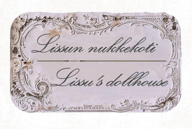 Lissun nukkekoti, Lissu's dollhouse on Suomen 4. ihanin nukkekotiblogi
