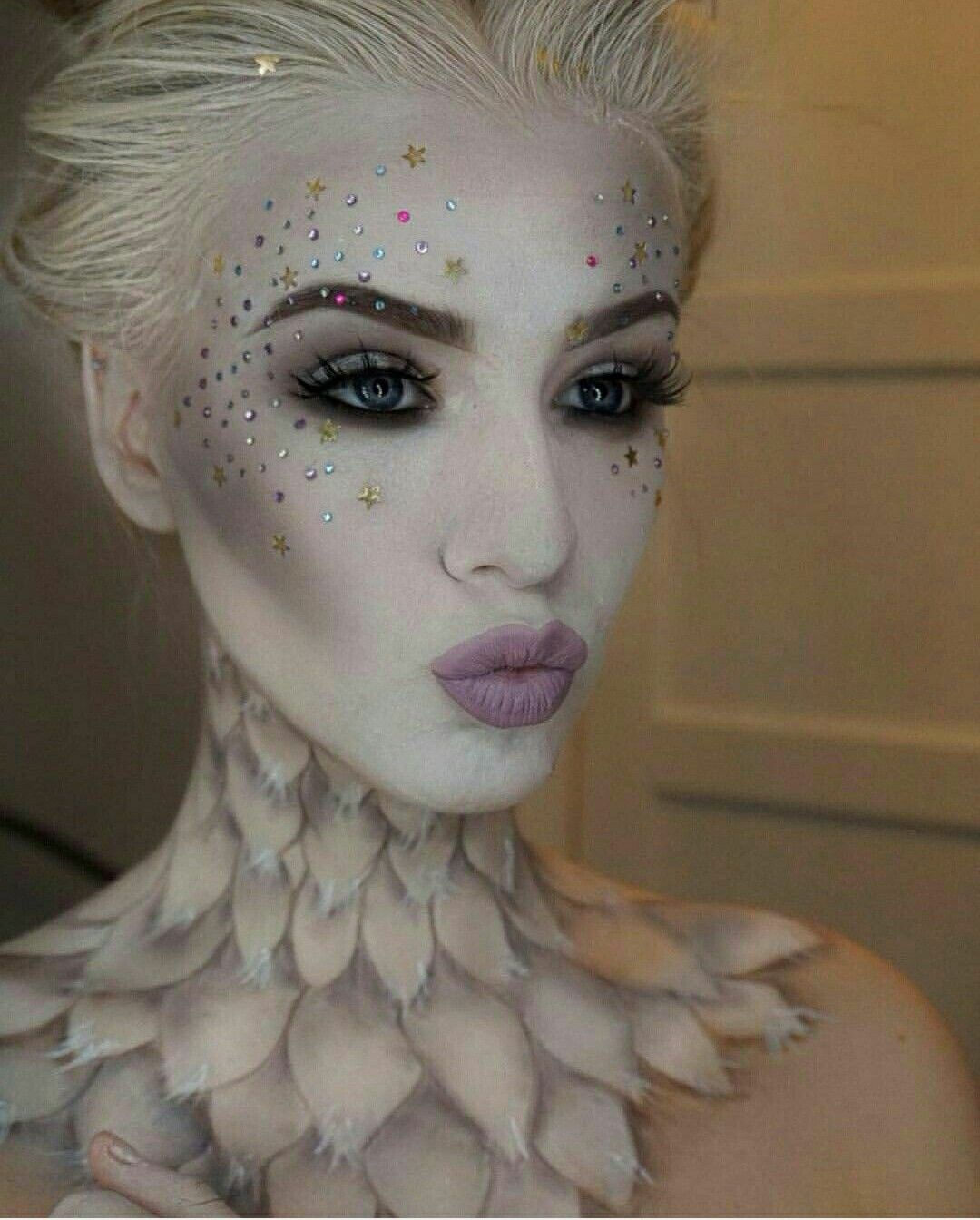 Pin by Robin Banks on White Halloween Makeup Fantasy