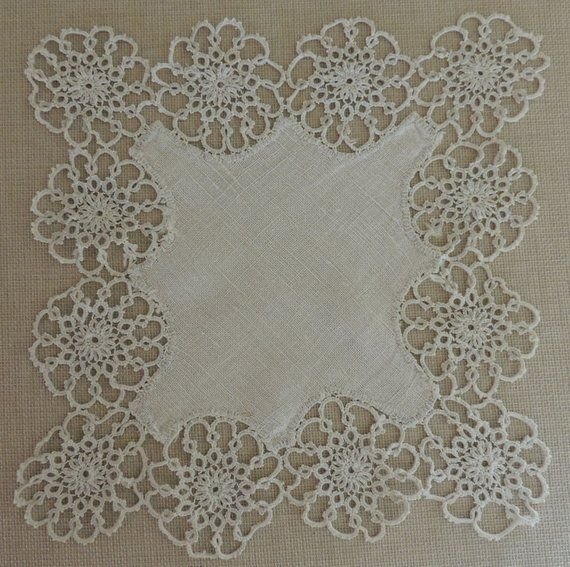 """Wide 1Yd 17cm Antique Style Floral Embroidered Tulle Lace Trim 6.7/"""""""
