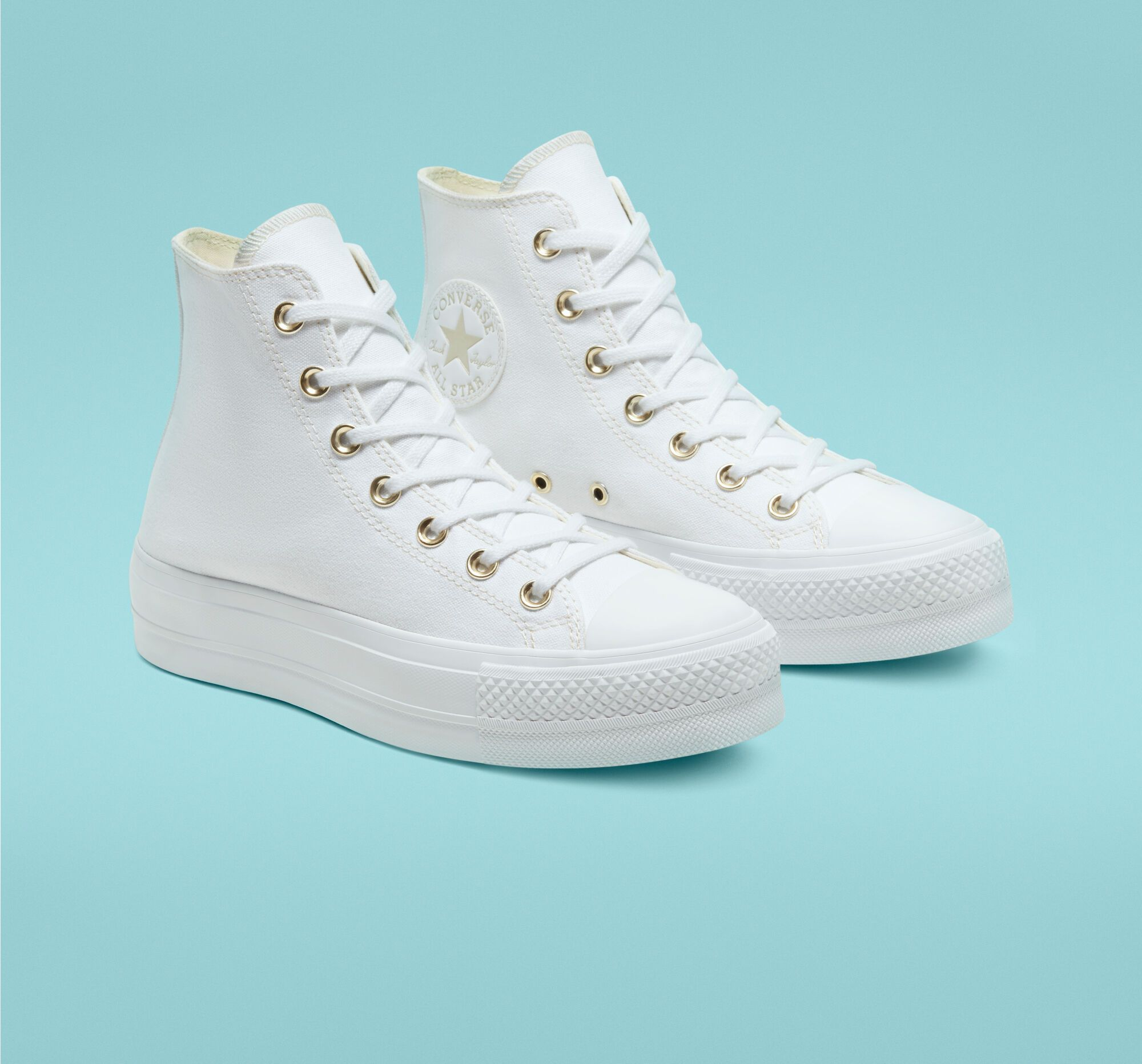 converse chuck taylor platform white