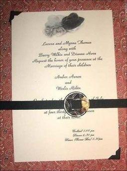 Western Wedding Invitation Wording Vestidos De Novia Pinterest