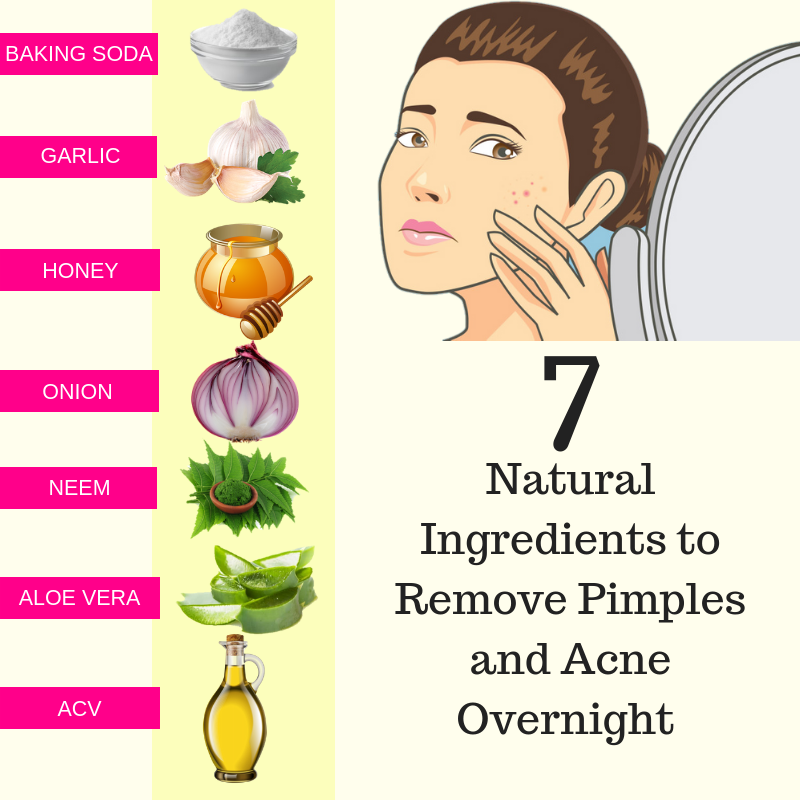 How To Get Rid Of A Bad Pimple Overnight