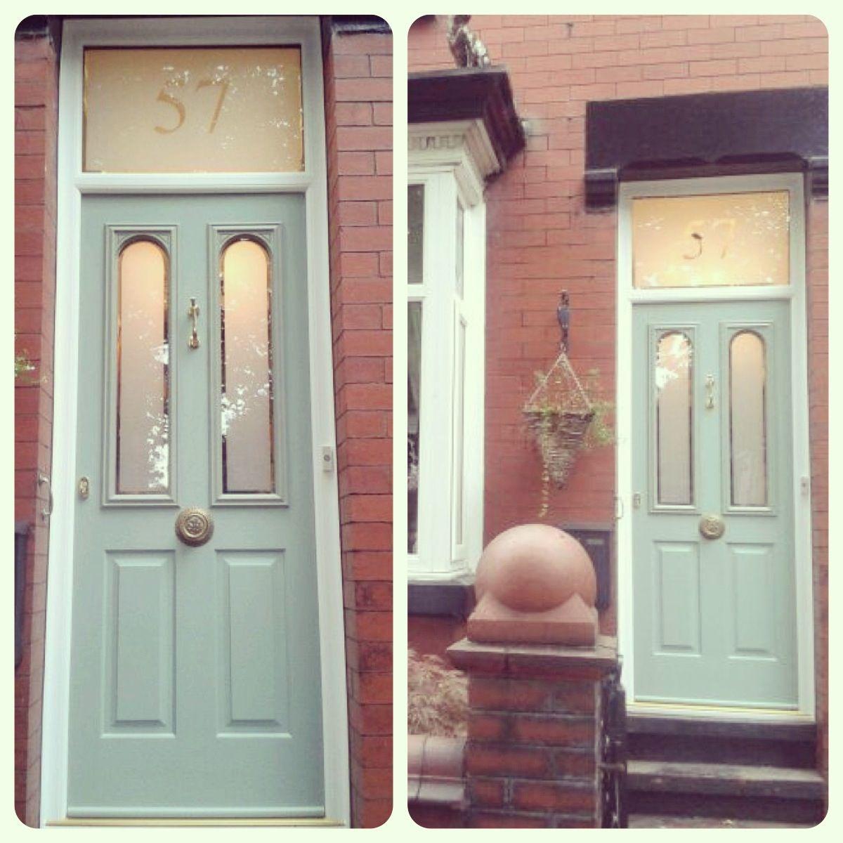 Green Front Doors: Composite Door Chartwell Green Edwardian Terrace