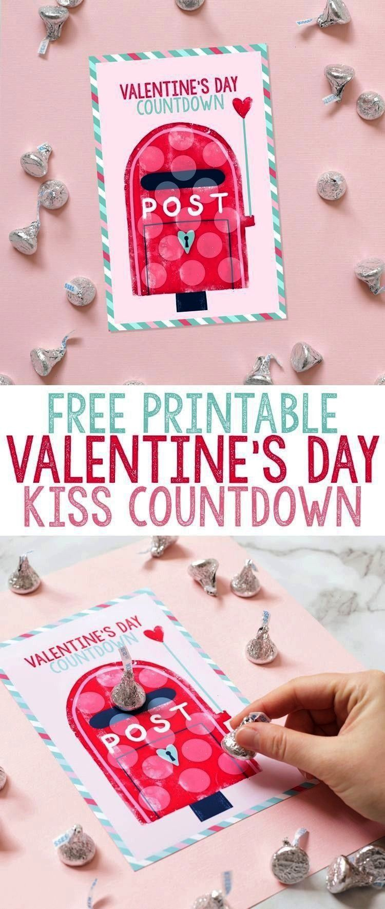Valentine s Day Countdown The Craft Patch Such a cute and easy Valentine s Day Free Printable Valentine s Day Countdown The Craft Patch Such a cute and easy Valentine s D...