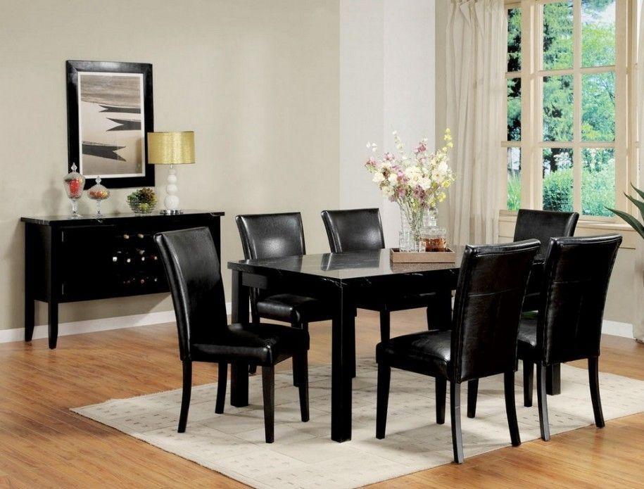 Schwarzer Esszimmer Tisch Set Küchen Schwarz Esszimmer Tisch Set U2013 Dieser  Schwarze Esstisch Set Ist