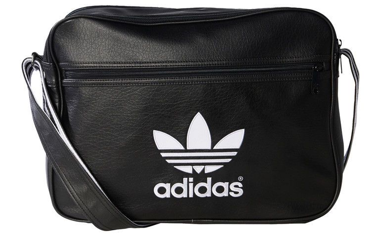 ce2700b842ab adidas Air liner Bag Unisex Accessory Travel Casual Black Shoulder Bag  AJ8203  adidas  ToteBag