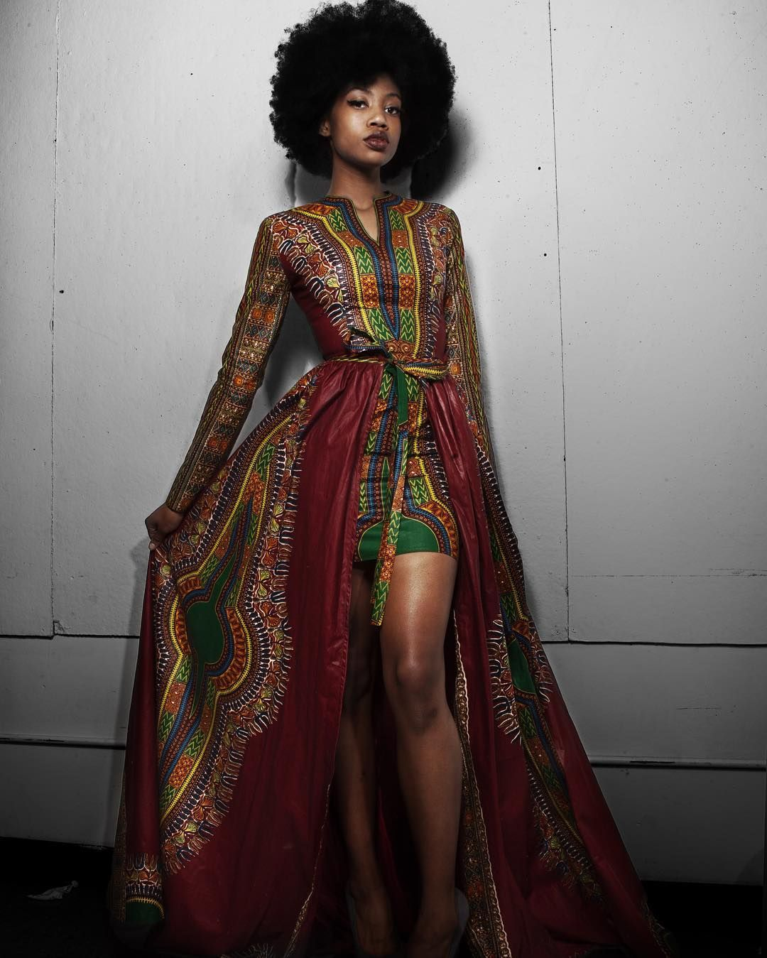 Dashiki Dress African Party Dresses African Fashion African Prom Dresses