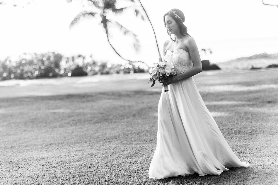 Maui Wedding Inspiration.  Walking down the aisle.   Trish Barker Photography www.TrishBarker.com
