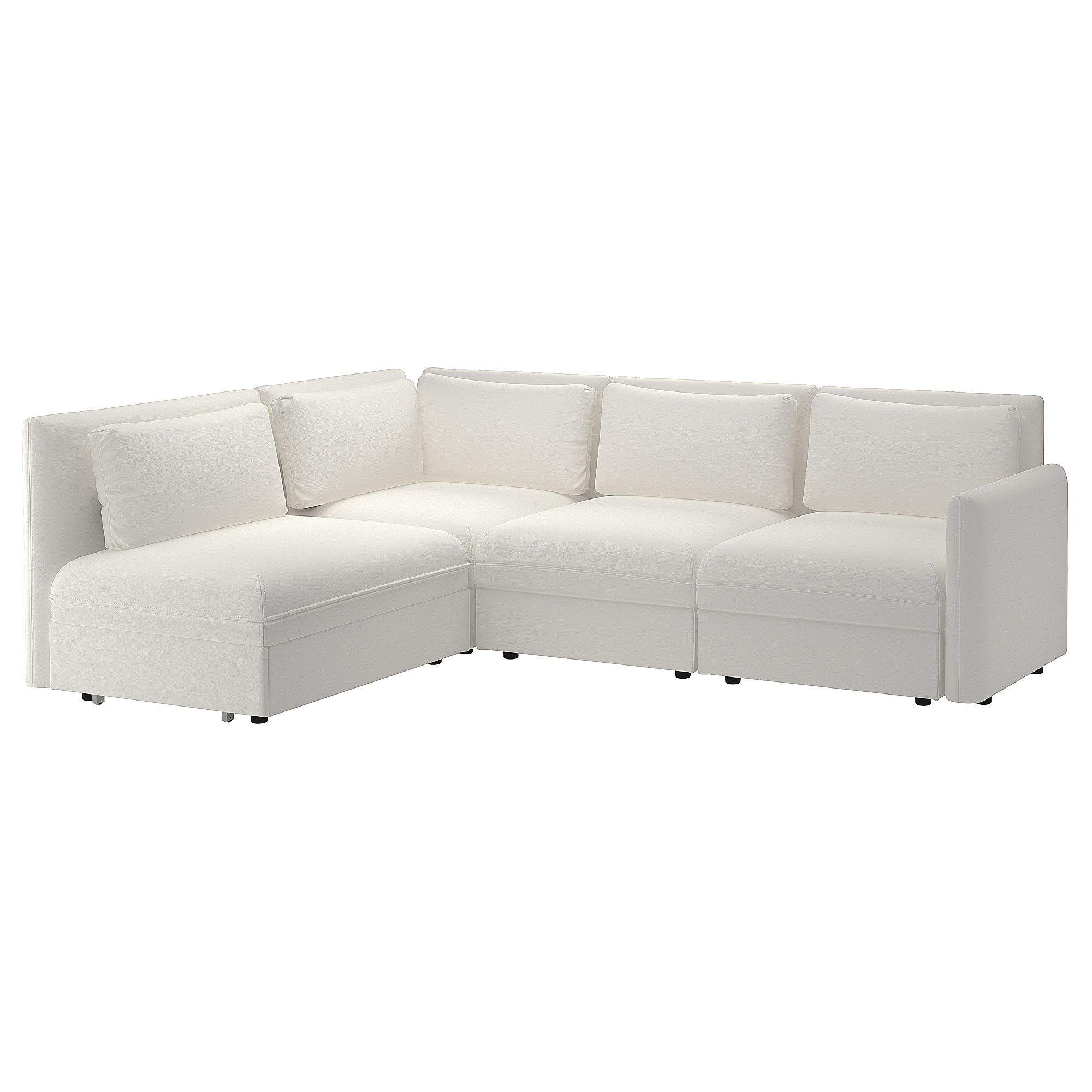 Vallentuna 4 Seat Modular Sofa With 3 Beds Mod Sectional 3 Seat W Slpr Sect Vallentuna And Storage Murum