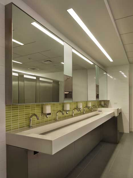 COMMERCIAL restroom tile ideas COLOR  Google Search
