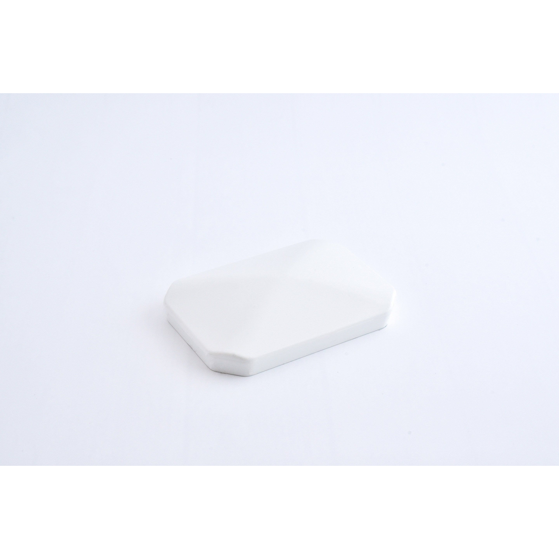 Chapeau Pour Poteau Pvc A Enfoncer Clea Blanc H 1 X L 6 X P 9 Cm Pvc Poteau Chapeau