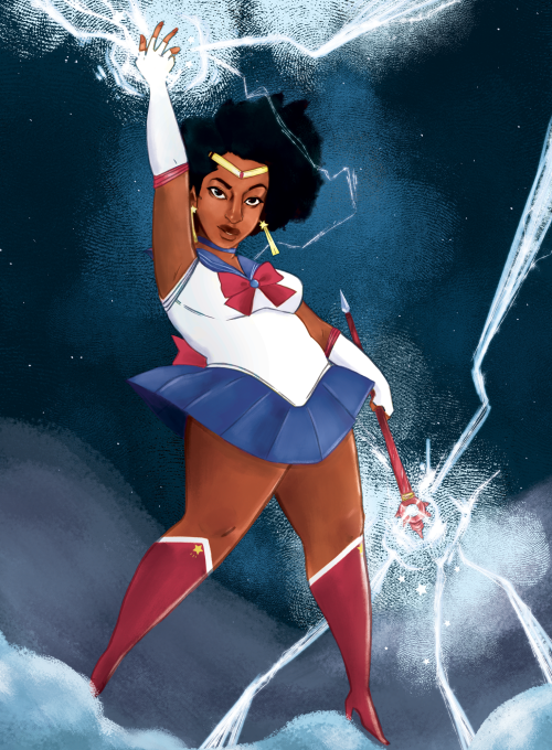 thob mobb draws | An awesome Sailor Moon commission I've finished...