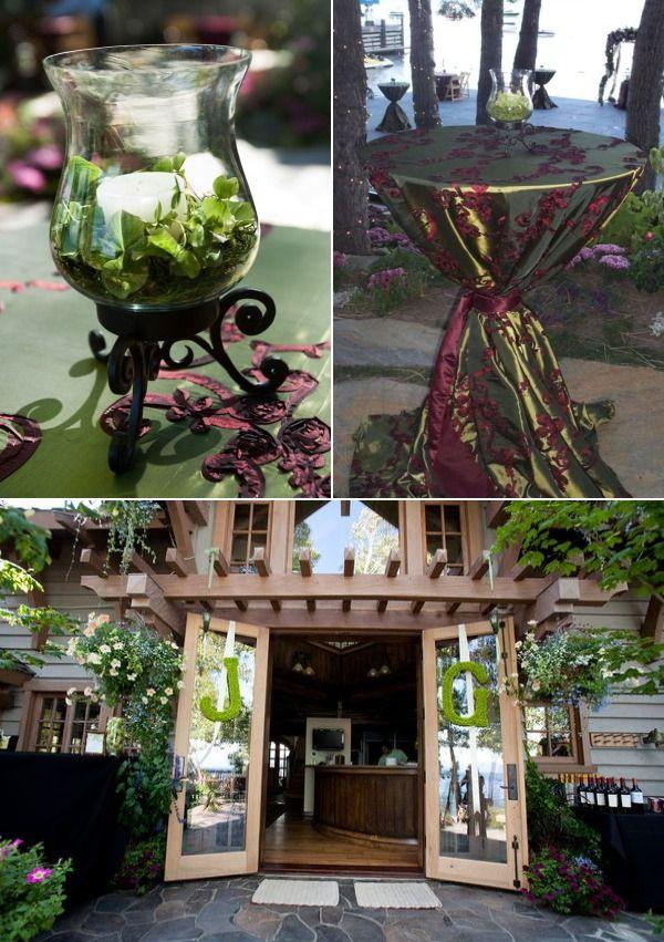 Elegant Backyard Wedding At Lake Tahoe From Merrily Wed ...