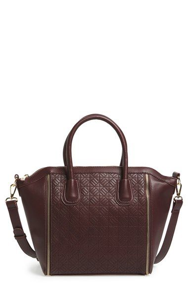 Emperia 'Mavis' Quilted Faux Leather Satchel available at #Nordstrom
