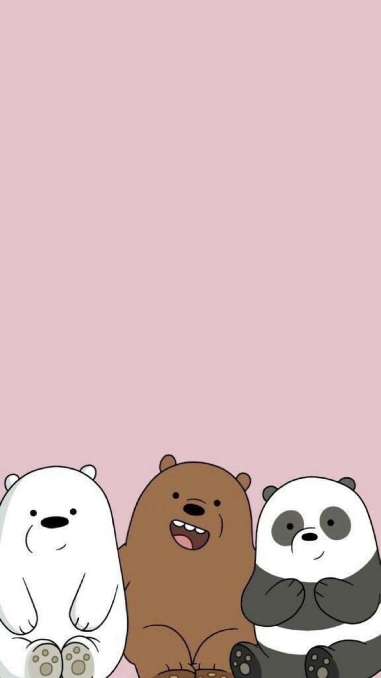 Love This Cute Bear Wallpaper We bare bears wallpapers