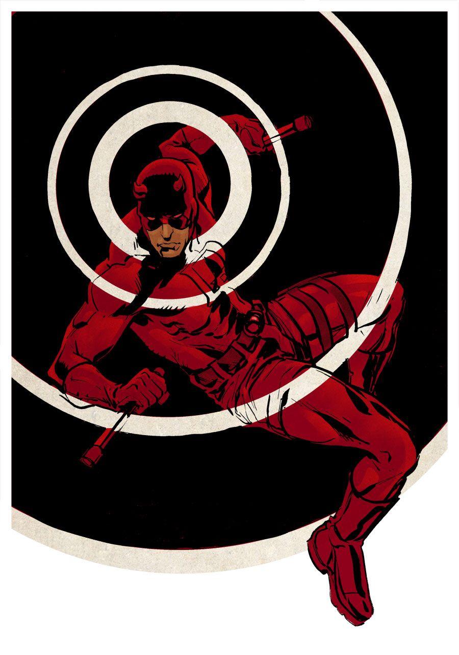 Daredevil colours by stokesbook on @DeviantArt