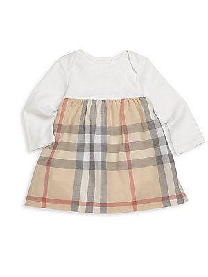 Burberry Baby Girl's Cherrylina Check Cotton Dress