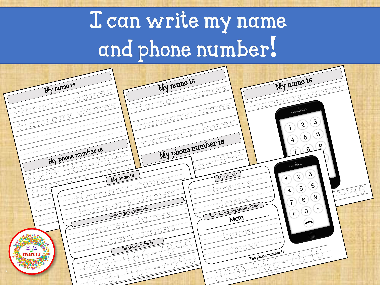 Kids Name Tracing Worksheet Learn To Write Name Learn
