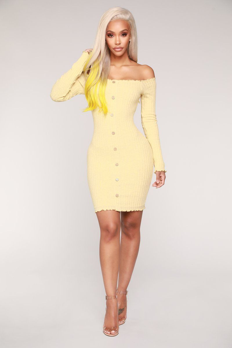 Jacklyn Off Shoulder Mini Dress Yellow Yellow Dress Summer Mini Dress Yellow Bridesmaid Dresses [ 1200 x 800 Pixel ]