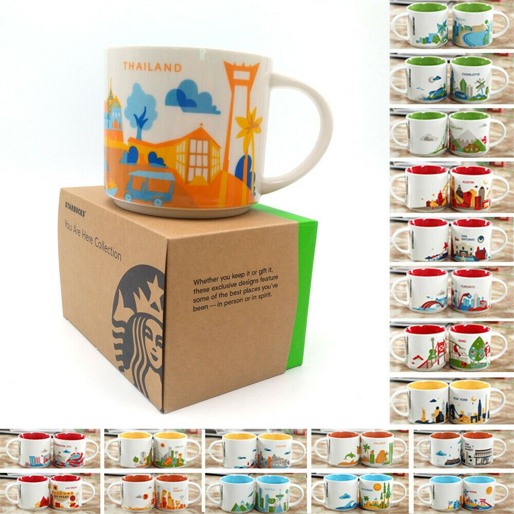 14oz Japan Thailand You Are Here Collection Starbucks Mug