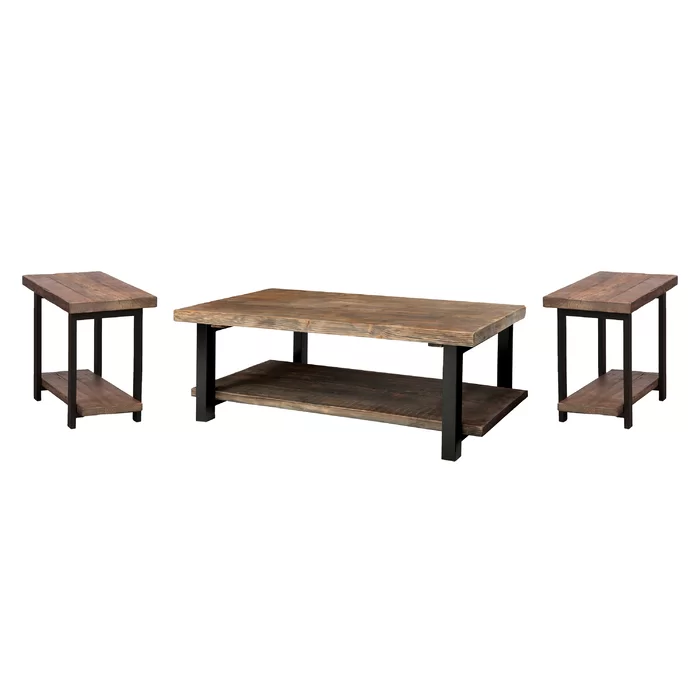 Thornhill 3 Piece Coffee Table Set In 2020 Coffee Table 3 Piece