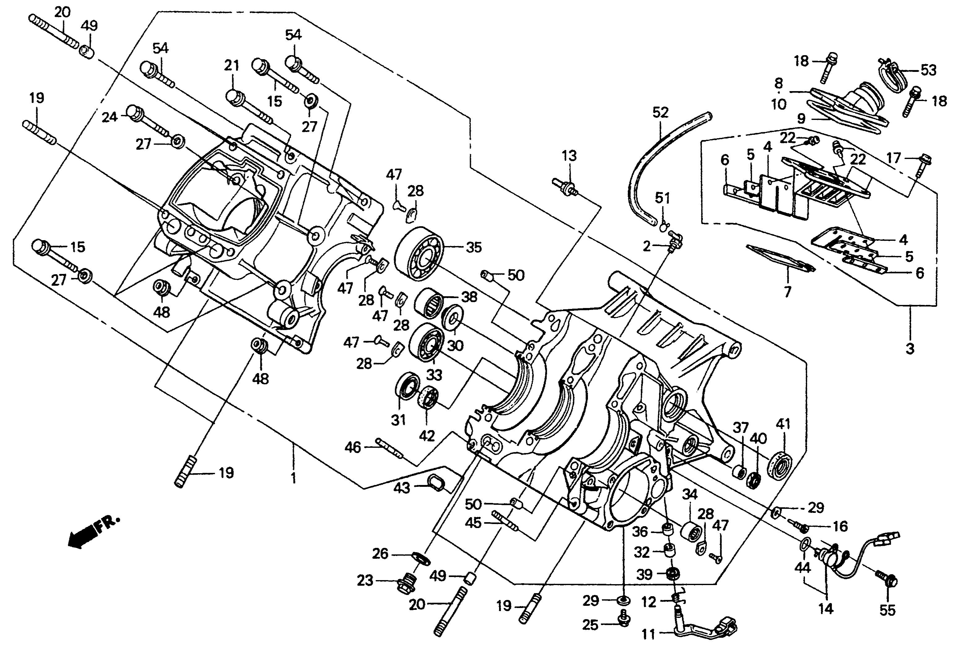 2001 honda nsr500v
