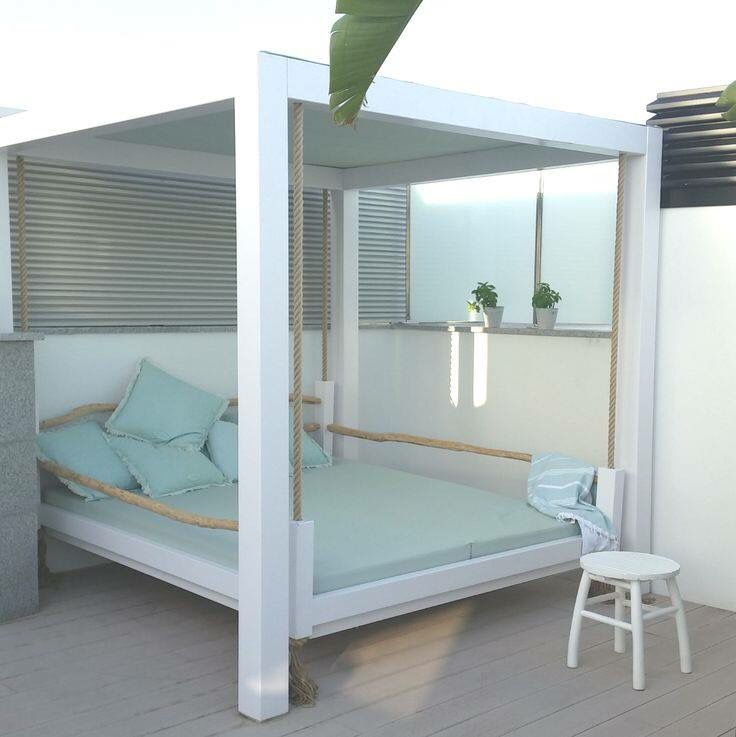 Love this daybed | Cool rooms, Outdoor rooms, Home on Living Spaces Outdoor Daybed id=39945