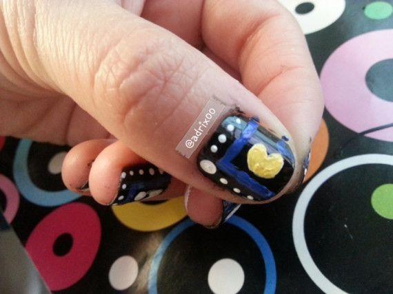 #Uñas #Geek – 46 imágenes para techies – #GeekNails #Nails #pacman