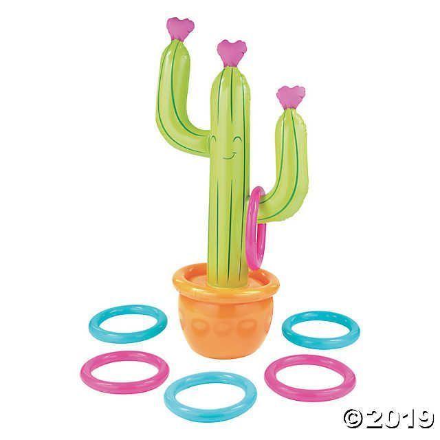 Photo of Aufblasbares Kaktusringwurfspiel | Orientalischer Handel