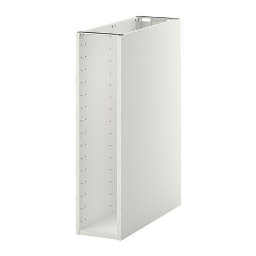 ikea metod korpus unterschrank wei 20x60x80 cm inklusive 25 jahre garantie mehr. Black Bedroom Furniture Sets. Home Design Ideas