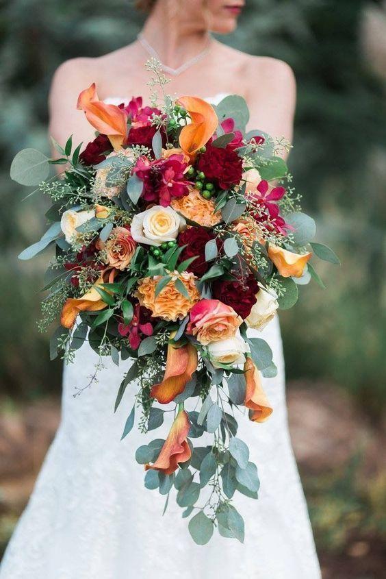 Fall bridal bouquet Tony Foss Florist OKC. #fallbridalbouquets #wedding #flowers #bouquet #florist #brides #floral #bridal #fall #tony #foss #okc #wFall bridal bouquet Tony Foss Florist OKC. #fallbridalbouquets