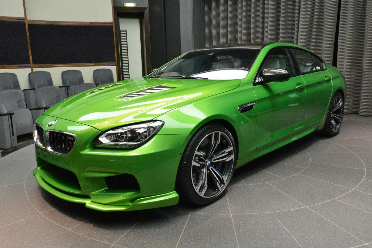 Kermit De Kikker BMW M6 Gran Coupe In Java Green