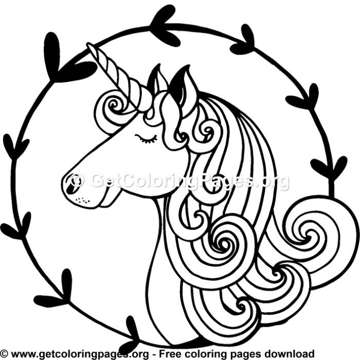 142 Rainbow Unicorn Coloring Pages in 2019 | Unicorn ...