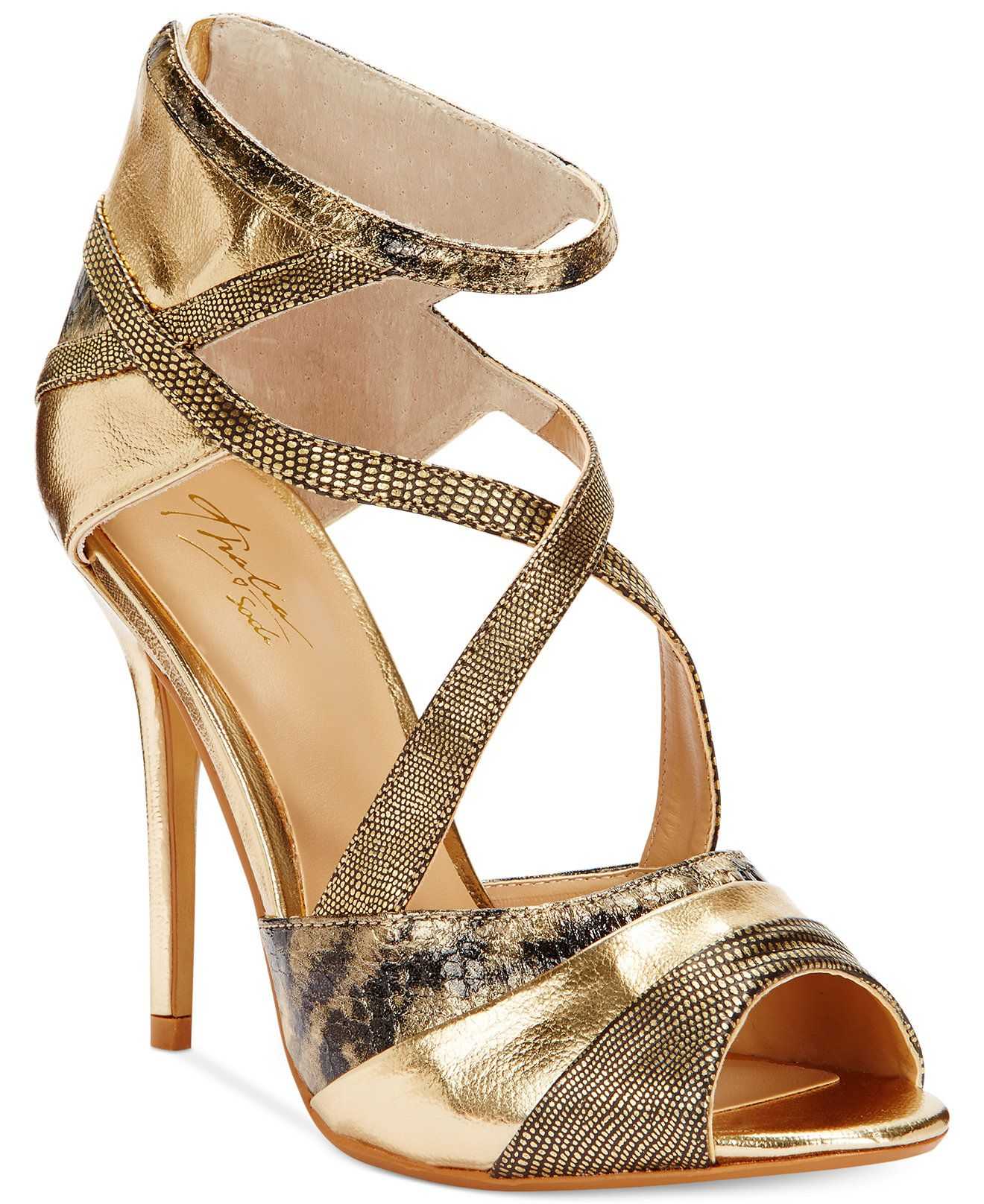 2356cc6246 Thalia Sodi Women's Ximena Strappy High Heel Dress Sandals - Evening &  Bridal - Shoes - Macy's