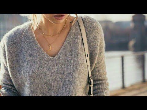 Ютуб вязание на спицах свитера 40